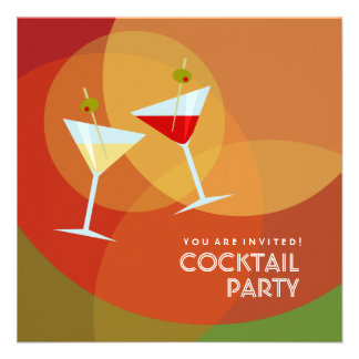 Cocktail Party invitation
