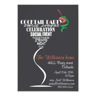 cocktail party invitations & announcements | zazzle.co.uk, Party invitations
