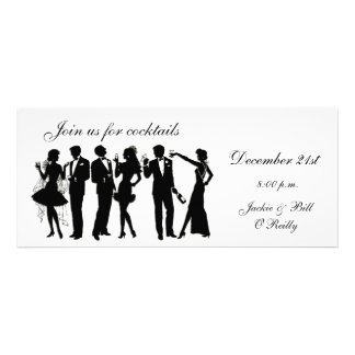 Cocktail Party People Personalised Invitation