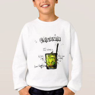 Cocktail Recipe Caipirinia Sweatshirt