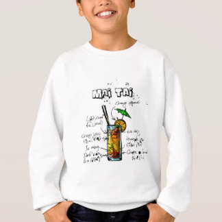 Cocktail Recipe Mai Tai Sweatshirt