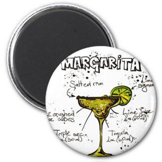 Cocktail Recipe Margarita Magnet