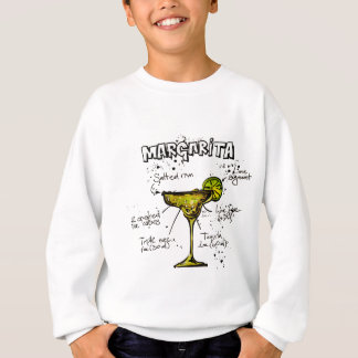 Cocktail Recipe Margarita Sweatshirt