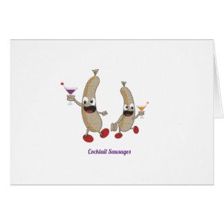 cocktail Sausages Card