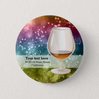 Cocktails 6 Cm Round Badge