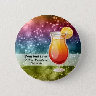 Cocktails 6 Cm Round Badge