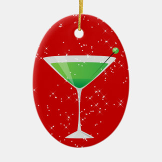 Cocktails Anyone? by SRF Christmas Ornament