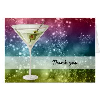 Cocktails Card