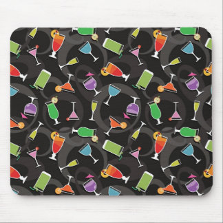 Cocktails Mouse Mat
