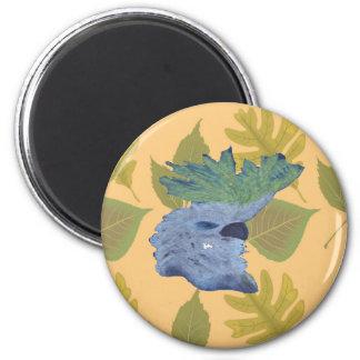Cocky 6 Cm Round Magnet