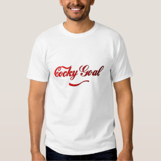 Cocky Goal T-shirts