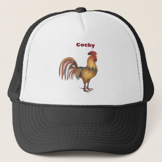cocky hat