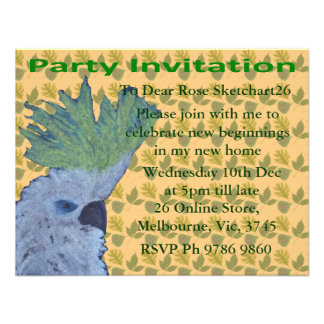 Cocky Custom Invite