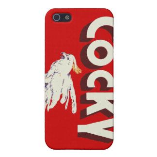 Cocky iPhone Case (4/4S) iPhone 5 Covers