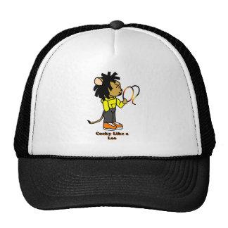 Cocky Like a Leo Mesh Hat