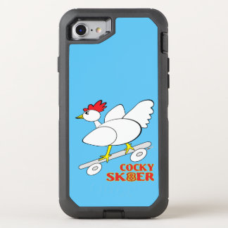 Cocky Skater OtterBox Defender iPhone 7 Case