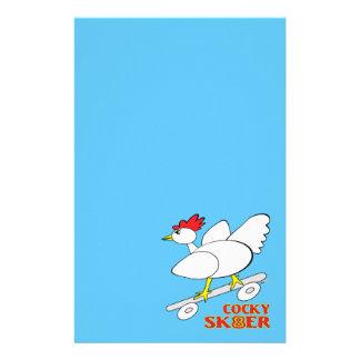 Cocky Skater Stationery Paper
