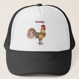 cocky trucker hat