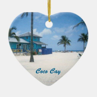 Coco Cay Christmas Ornament