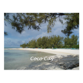 Coco Cay Island, Bahamas Postcard