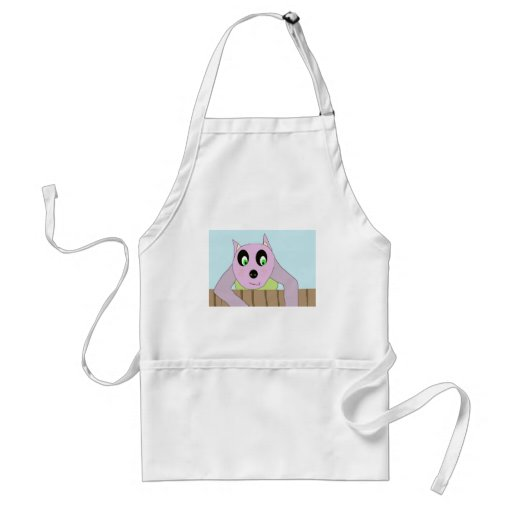 coco character from cartoon aprons