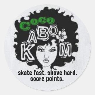 Coco LetterFro Sticker