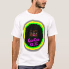 CoCo Q.T., Brown Gorgeous Face With Big Curly Hair T-Shirt