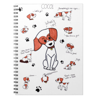 Coco the Jack Russell Terrier Notebook
