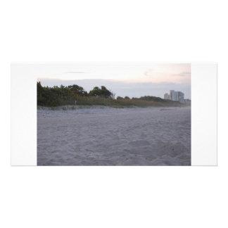 Cocoa Beach Florida Photo Card Template