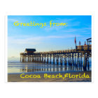 Cocoa Beach Florida Postcard