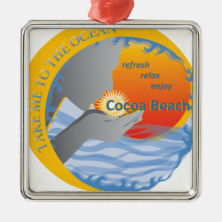 Cocoa Beach Gifts Christmas Ornament