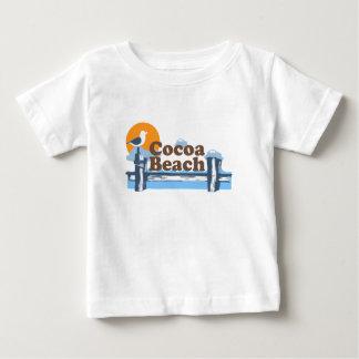 Cocoa Beach - Pier Design. Baby T-Shirt
