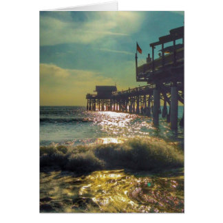 Cocoa Beach Pier note card