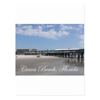 Cocoa Beach Postcard
