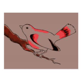 Cocoa Birdy postcard