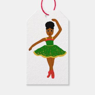 Cocoa Cutie Christmas Ballerina (Kiara) Gift Tags