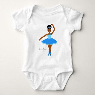 Cocoa Cuties Ballerina Blue (Mocha) Tshirt