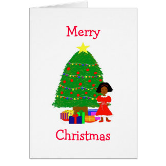 Cocoa Cuties White Christmas Greeting Card
