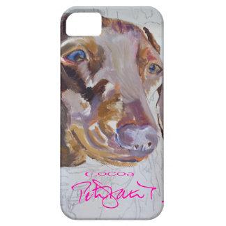 Cocoa dachsund iphone cover