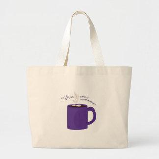 Cocoa Marshmallows Canvas Bag