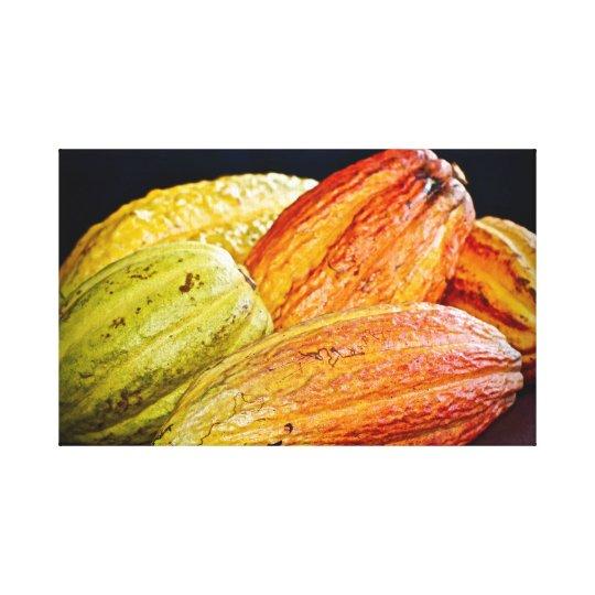 Cocoa Pods ~ Cacao ~ Trinidad Cocoa Canvas