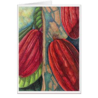 Cocoa Pods Card