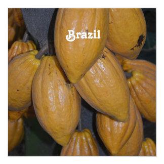 Cocoa Trees Personalized Invitation