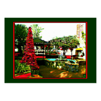 Cocoa Village Christmas 2004 Artist Trading Card Pack Of Chubby Business Cards