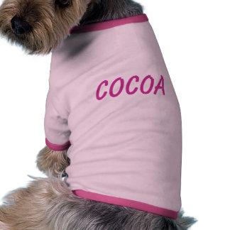 Cocoa's T-shirt Pet Clothes