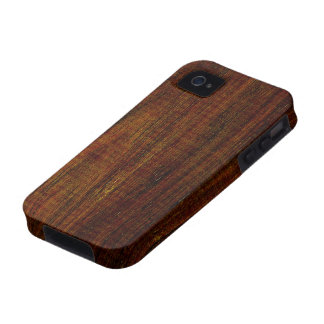 Cocobolo Wood Grain iPhone 4 Case