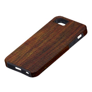 Cocobolo Wood Grain iPhone 5 Case