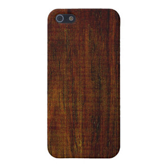 Cocobolo Wood Grain iPhone 5 Covers