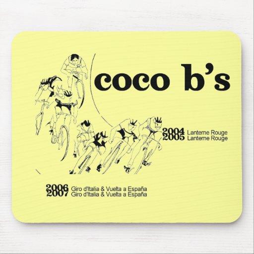 CocoB's Le Tour Mousepad