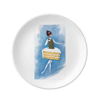 Coconut Cake Plate
